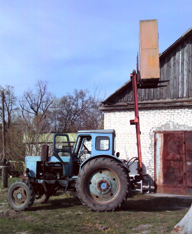 Самодельный трактор т 40 4 фотография