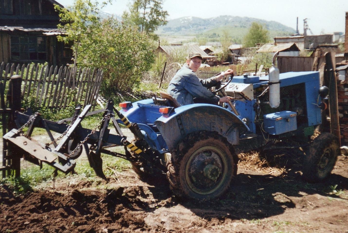 Трактор своими руками видео фото